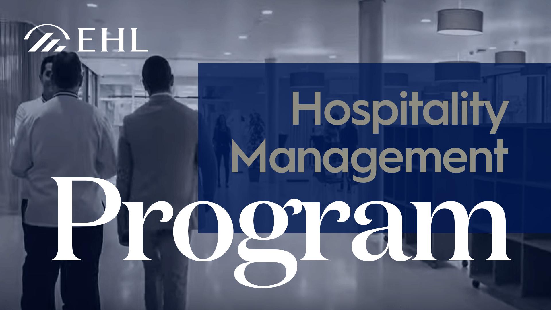 hospitality management program