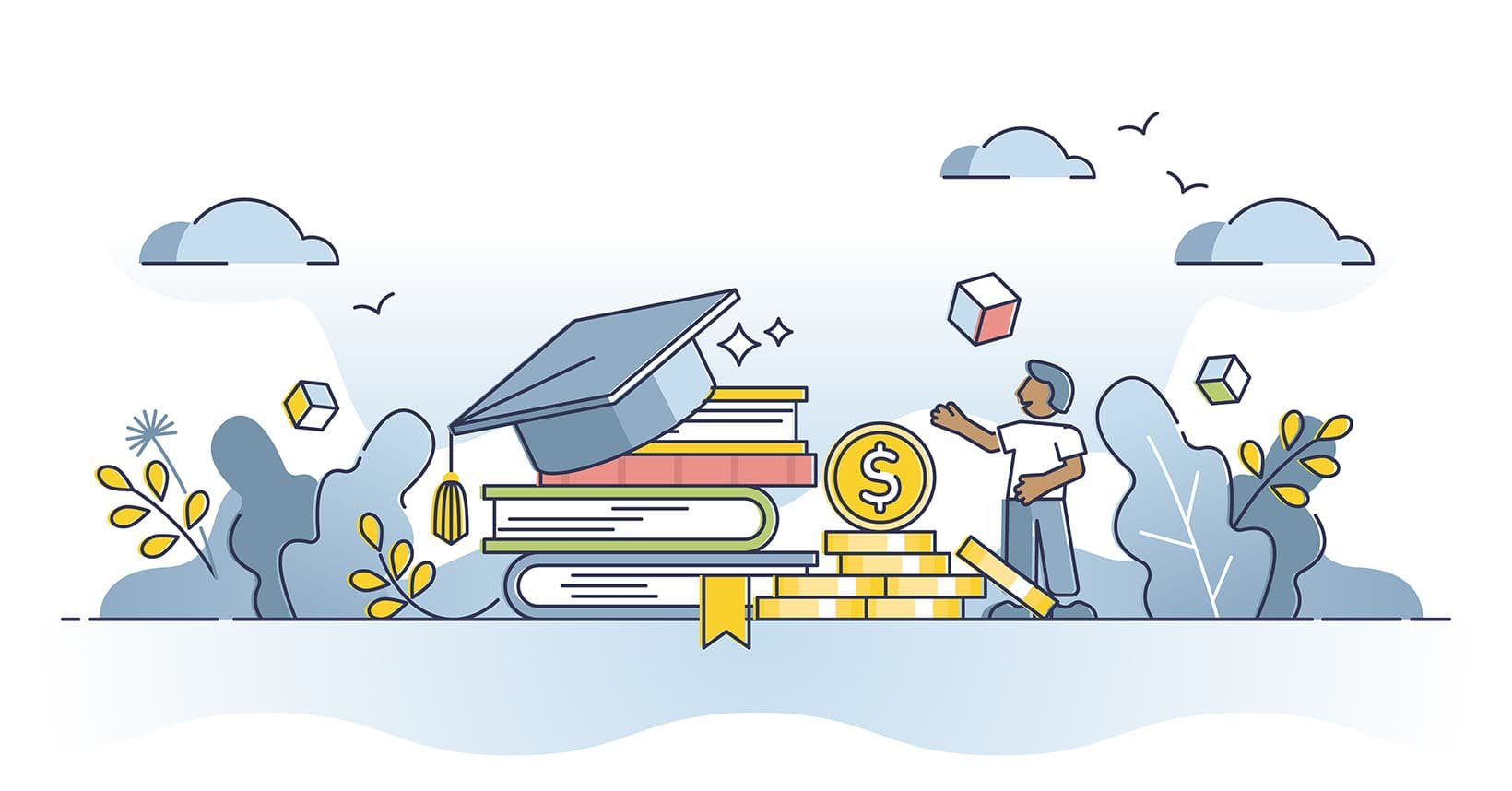 Invest in education: The best sector is higher education